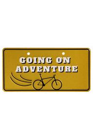 Tablica za Going on adventure