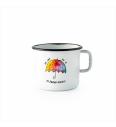 Emajliran lonček (0.37L) Cuckoo Cups Marela