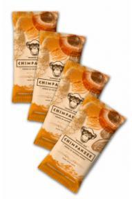 Set energetskih pločica Chimpanzee Apricot 4 za 3