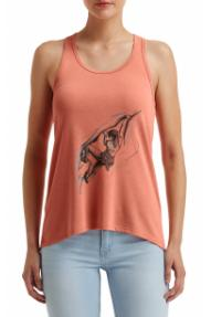 Ženska majica brez rokavov Hybrant All Alone 3.0