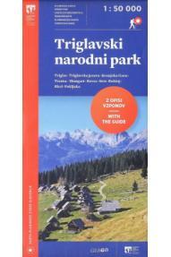 Zemljevid Triglavski narodni park z opisi 1:50000
